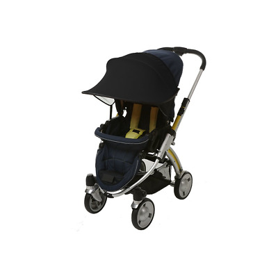 Manito Sun Shade for Strollers and Car Seats Black UPF 50+
