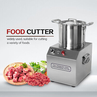 4L Commercial Electric Food Cutter Meat Vegetable Spice Chopper Stainless Steel