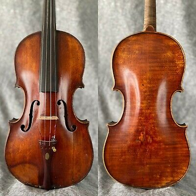 Fine Quality Antique Violin c.1900 - Elegantly Crafted - Flamed One Piece Back