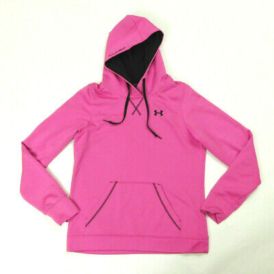 Under Armour Womens Pink M Loose Fit Hoodie