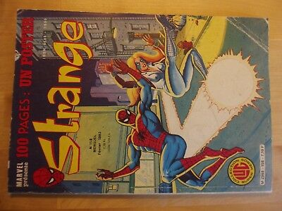 The Journal of Spider-Man Strange No No 158 with to Be Sent Inserted 1983
