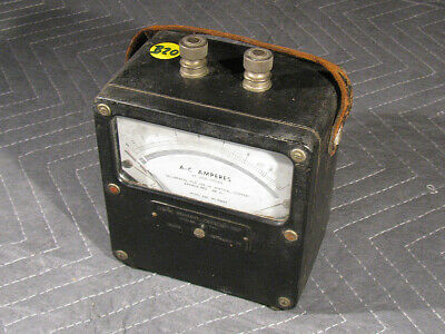 Vintage Weston Electric AC Amperes Meter