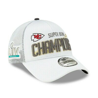 Kansas City Chiefs 2019 New Era Official Super Bowl Liv Champion Locker Room Hat
