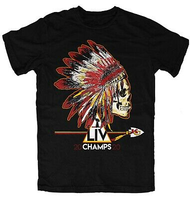 CHIEFS AUTHENTIC  T-Shirt KANSAS CITY SUPER BOWL CHAMPIONS LIV 2020
