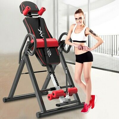 Inversion Table Back Pain Therapy Adjustable Medical Mobility Teeter Chair Hang