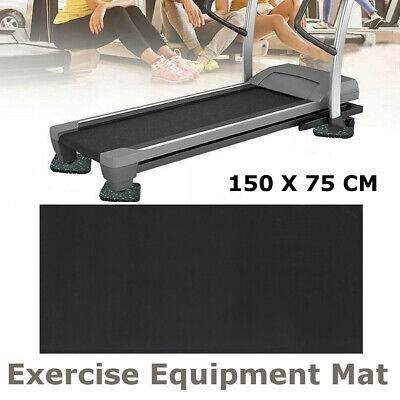 UK Treadmill Mat Exercise Gym Equipment Go Fit Treadmill Bike Protect Floor