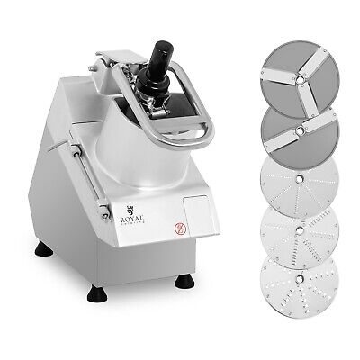 Commercial Vegetable Cutter Electric Veggie Slicer Food Processor 750W 5 Blades