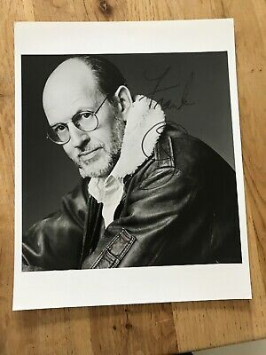 Frank Oz - Autograph - Signed Black and White Photograph YODA Star Wars
