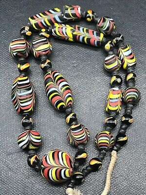 wonderful Islamic Roman Glass Mosaic beads Lovely Necklace