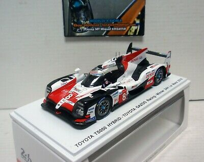 Toyota Ts050 Hybrid #8 Primero Winner Le Mans 2018 1/43 Spark 43Lm18 Alonso