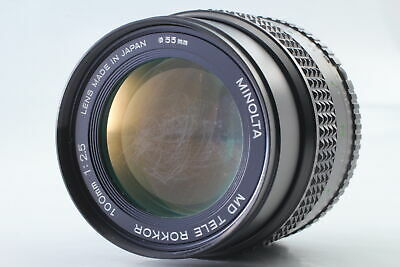 [Rare! As-is] Minolta MD Tele Rokkor 100mm f/2.5 MF Lens from Japan #134