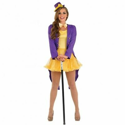 Charlie Chocolate Factory Willy Wonka Fancy Dress Size 8/10