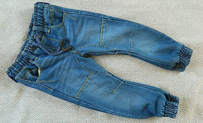 boys denim trousers cuffed jeans size 3 years up to 98cm Mothercare BNWOT