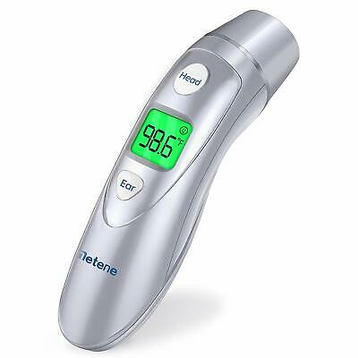 Metene Medical Forehead and Ear Thermometer,Infrared Digital Thermometer NEW