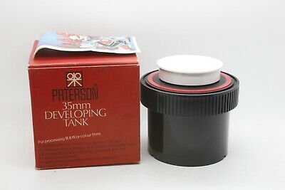 Paterson System 4 Developing Tank35mm / 126 Film (New boxed)