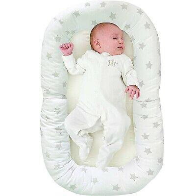Comfort Nest Baby Sleep Cocoon Anti Reflux Wedge infant Foldable Soft Travel Bed