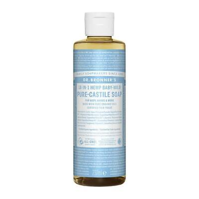 Dr Bronner Baby Mild Castile Liquid Soap 236 ML