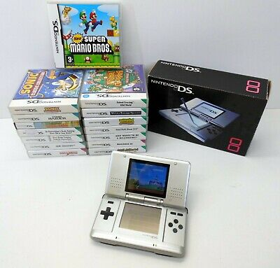 Original Boxed Nintendo DS - Retro Bundle (Gameboy) - Games and Charger