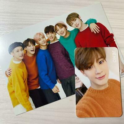 NCT Dream JENO Official Limited Photo Card Postcard Set Music KPOP