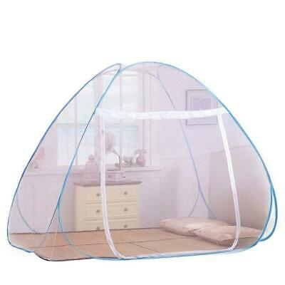Foldable Mosquito Net Bed - Pop Up Mongolian Yurt Dome Free 180×200 cm