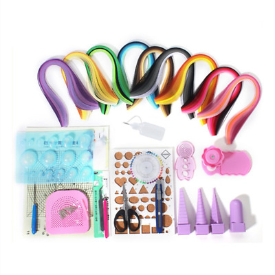Beginners Paper Quilling Tools Kit 19 Packs DIY Tool Set C6W2