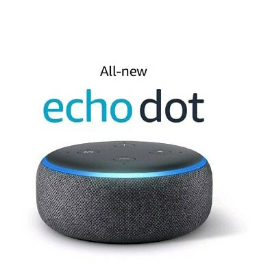 Amazon Echo Dot 3rd Generation Smart speaker With Alexa - Charcoal ...