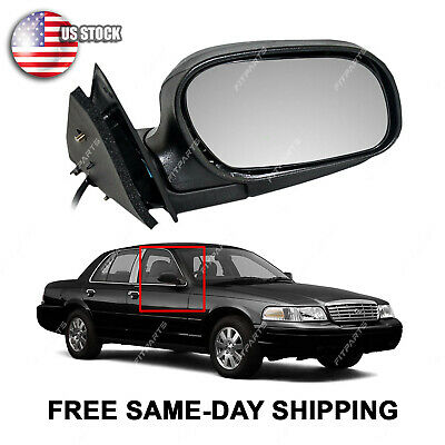 Power Side Mirror RH Right Hand Passenger for 97 Grand Marquis Crown Victoria