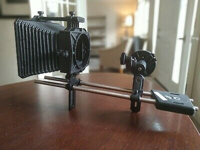 Petroff Matte Box, Follow Focus, Rail Rods, and Baseplate Rig Kit