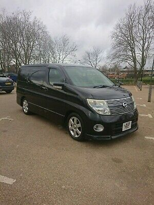 Nissan Elgrand 2008 3.5 4x4 Highway Star 8 Seater Fresh Import £5495 ono