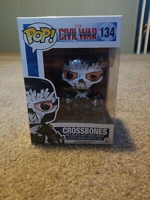 Funko POP! Marvel Captain America Civil War Crossbones #134 Vinyl Bobblehead