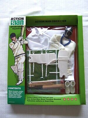 VINTAGE ACTION MAN 40th SPORTSMAN GRASS STAND for FOOTBALLER CRICKETER OLYMPIC