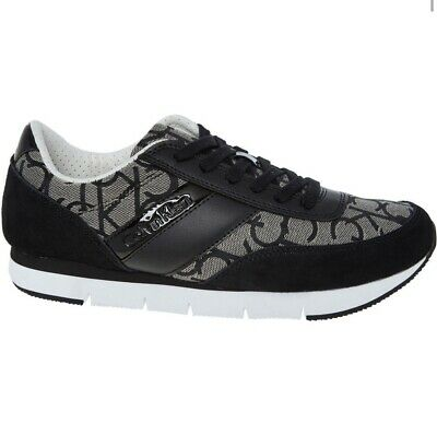 Calvin Klein Black Trainers Size UK 7 EU 41 Unisex Sneakers Brand New RRP £160