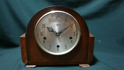 Smiths Enfield Mantel Clock Westminster Chimes. 'The Sutherland', circa 1950.