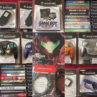 NEW Nintendo GameCube Lot: The ULTIMATE Factory-Sealed Museum-Quality Collection