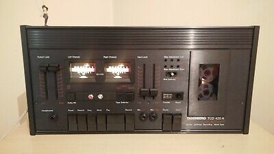 TANDBERG TCD 420A 2 heads tape deck recorder