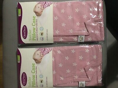 Job lot of  100 Cleva Mama pink Toddler pillow cases (£1.20 per item)