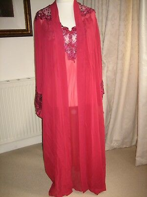 Chaslyn Night Dress And Robe Stunning Vintage