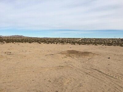 Five acres in Desert Heights with existing slab San Bernardino County