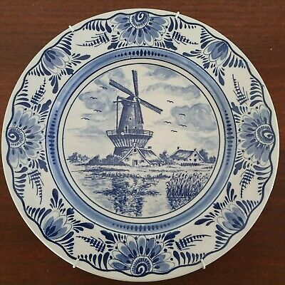 DELFT BLUE Collector plate Windmill