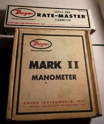 Dwyer RMB-55 Rate-Master Flowmeter & Manometer