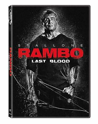 Rambo: Last Blood (DVD, 2019) Sylvester Stallone BRAND NEW - FREE SHIPPING!!!