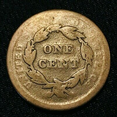 1840 Braided Hair Large Cent 1C Small Date Type One Cent US Copper Coin CC1129