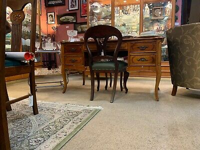 French 19th Century Cherrywood Desk with Drawers - Beautiful Condition