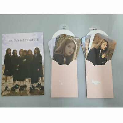GFRIEND 回:Labyrinth] BIGHIT(WEPLY) Preorder Photocard and Postcard