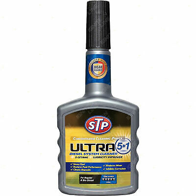 STP Concentrated Cleaning Power Boost Ultra 5 in 1 Diesel System Cleaner 400 ml