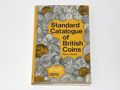 VINTAGE NUMISMATIC BOOK - BRITISH COINS - 1970 SEABY - Compare the Values (OS01)