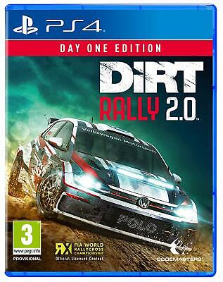 DiRT Rally 2.0 Day One Edition (PS4) BRAND NEW SEALED