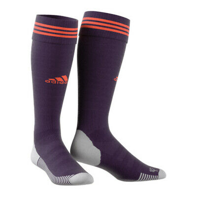 Adidas Adisock 18 Knee Socks Purple Orange