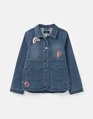 Joules Imogen Denim Jacket  - CHAMBRAY