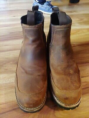 Bob Timberlake Men's Sixty One Series Romeo Boots Size 11M Leather Style 827815
